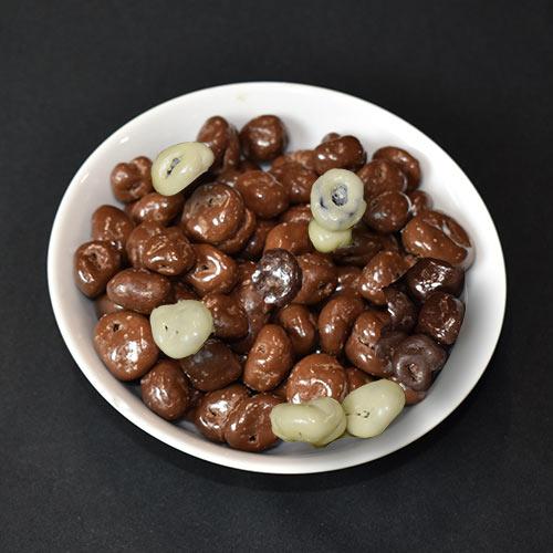 Chocoladerozijnen